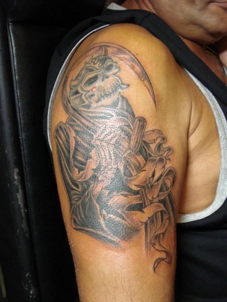 Fighting-Warriors Tattoos Designs