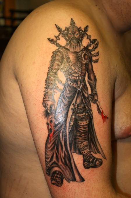 tattoo aztec warrior – tattoo